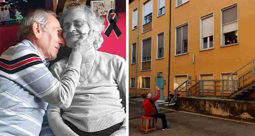 Muere mujer italiana a la que esposo llevó serenata al hospital