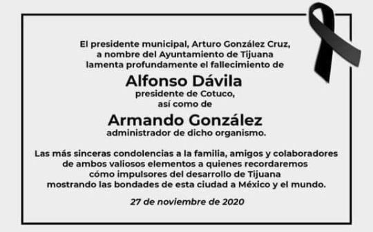 Alfonso Dávila y Armando González