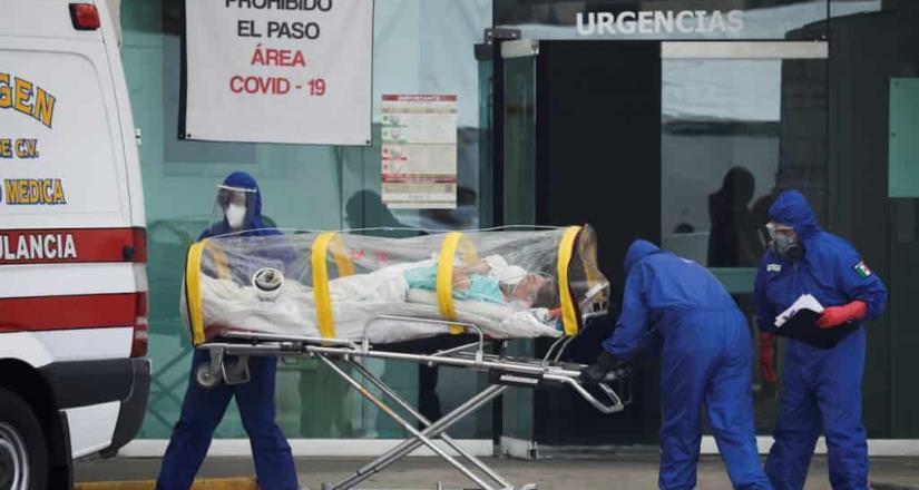 En 20 días la CDMX sumó mil 815 muertes asociadas a Covid