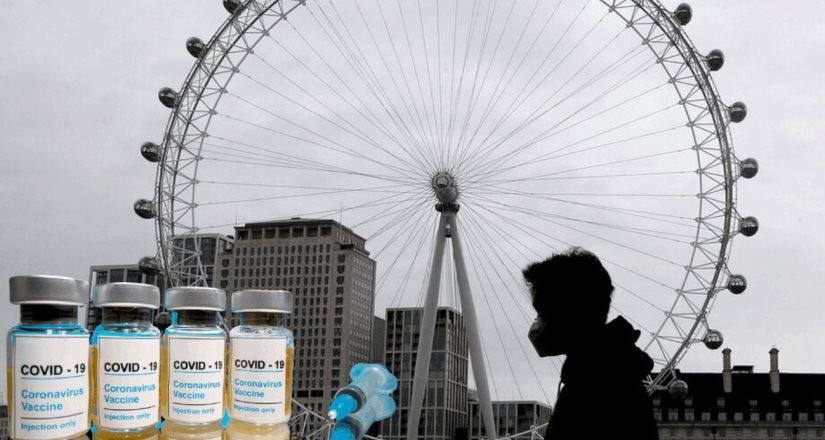 Reportan que Reino Unido aprobará en días vacuna de Pfizer