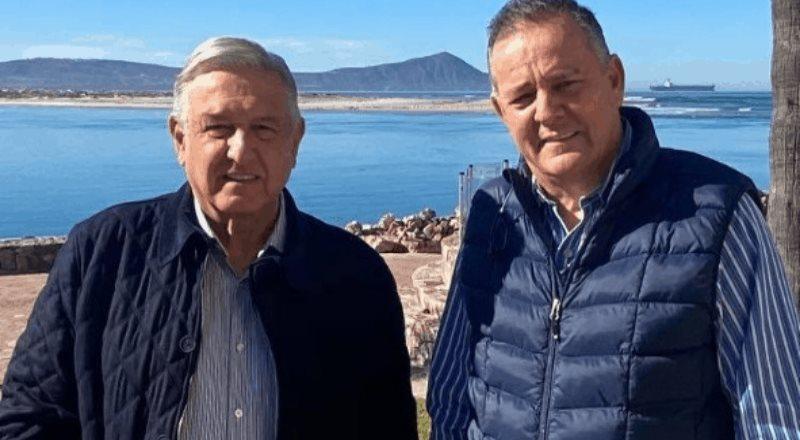 Encuentro entre el senador Gerardo Novelo y Andrés Manuel López Obrador