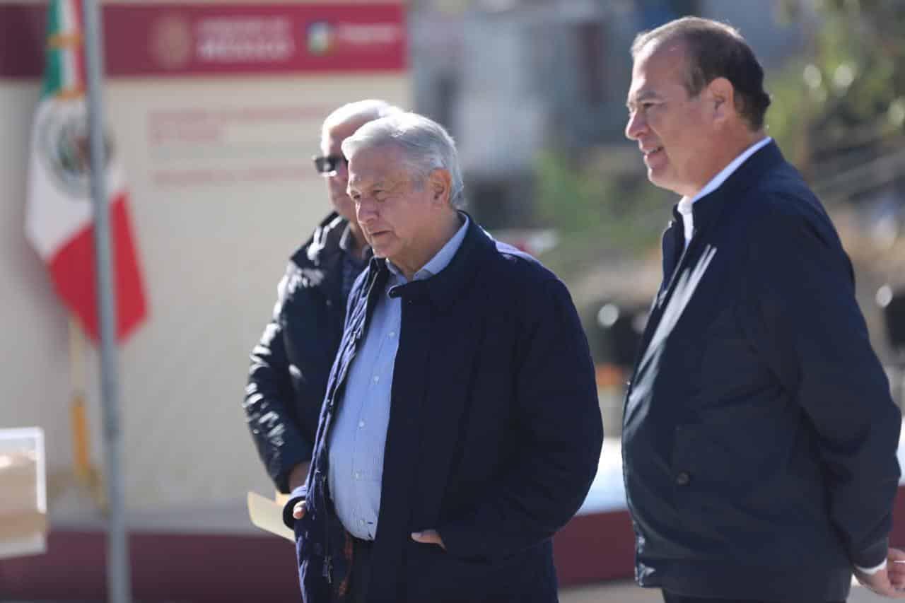 """""""Gracias al Presidente Municipal de Tijuana por su apoyo: AMLO"""