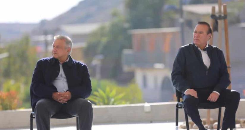Reconoce AMLO el trabajo de Arturo González Cruz y los cimientos de la 4T en Tijuana