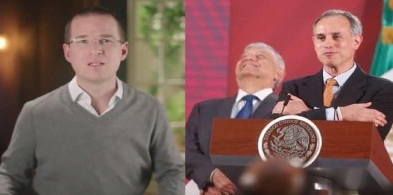 Anaya llama lambiscón a López-Gatell