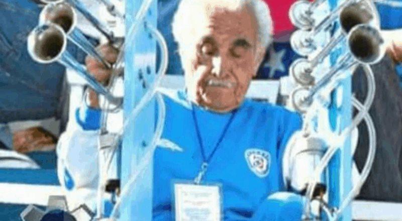 Muere aficionado que hacía el sonido de la locomotora en Cruz Azul