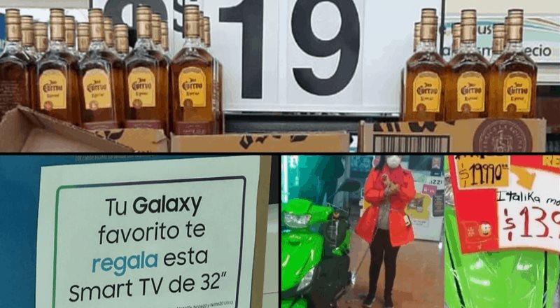 Televisión gratis, tequila a 19 pesos y otras pifias del Buen Fin