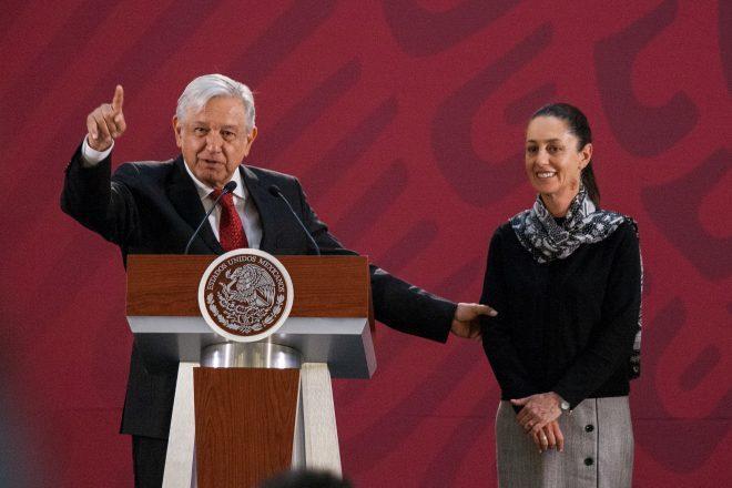 Agradece Sheinbaum a AMLO la transformación en el país