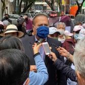 Arturo González presenta su registro como aspirante a candidato para gubernatura de Baja California