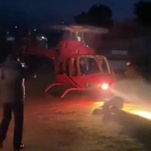 Muere empresario tras ser golpeado por hélice de helicóptero
