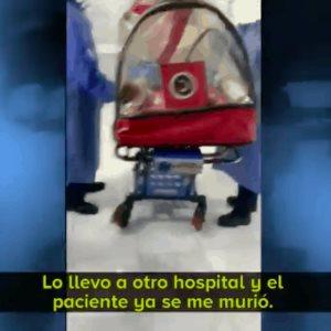 Hombre de 62 años, fallece en el pasillo del HGM al negársele atención médica por falta de camas