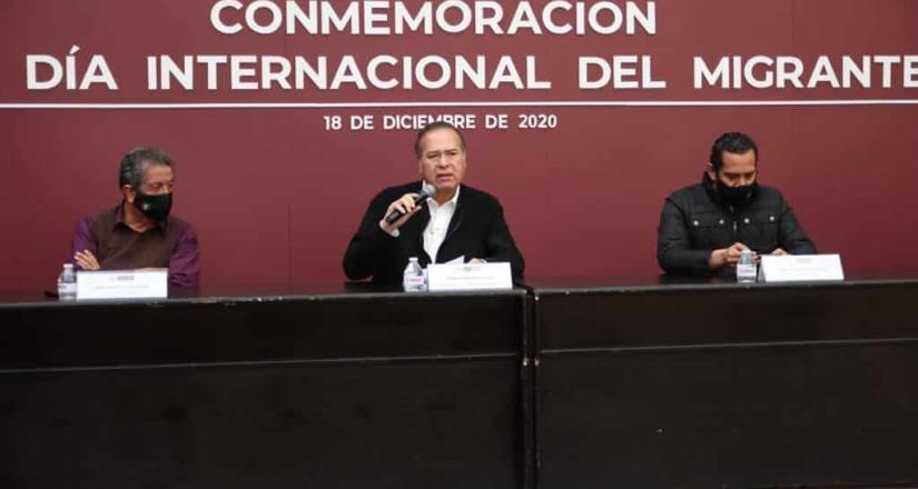 Encabeza alcalde de Tijuana conmemoración por el Día Internacional del Migrante