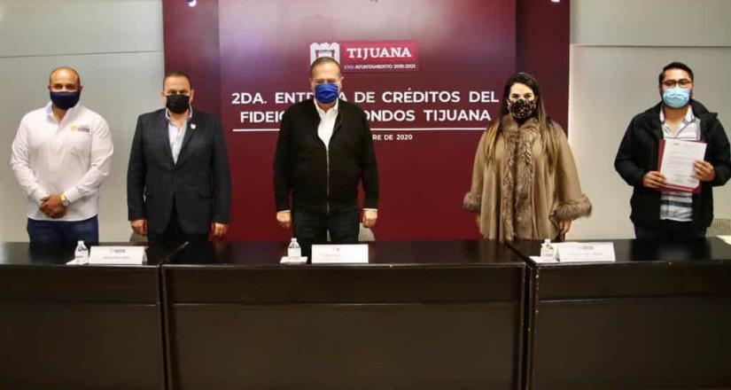 Otorga Gobierno Municipal créditos a emprendedores tijuanenses