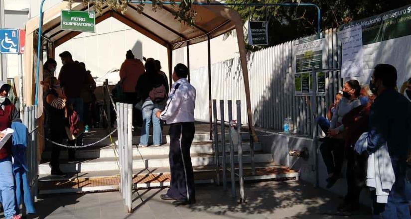 Capacidad hospitalaria llega a 87.7% en Baja California