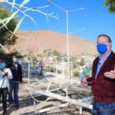 Supervisa Arturo González obras comunitarias en Delegación La Presa y Cerro Colorado