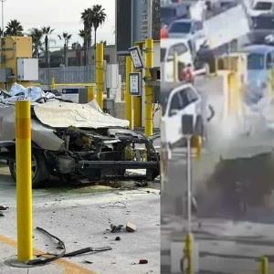 (VIDEO )Dos muertos tras el accidente registrado en la Garita de  San Ysidro