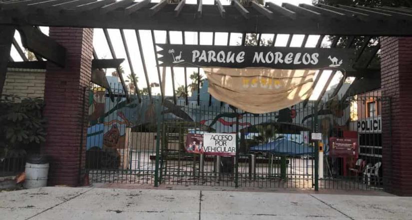 Cierran Parque Morelos y de la Amistad este 24 de diciembre por condición Santa Ana