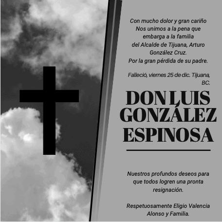 Don Luis González Espinosa