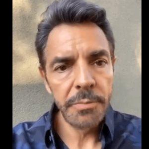 Eugenio Derbez comparte video tocándose que le hackearon
