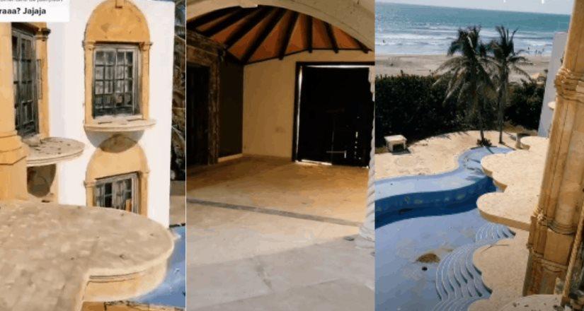 Tiktokers invaden casa abandonada de Luis Miguel en Acapulco; Suben videos