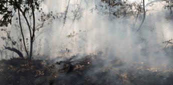 Trabajan en extinción de incendio en Parque Nacional Izta-Popo