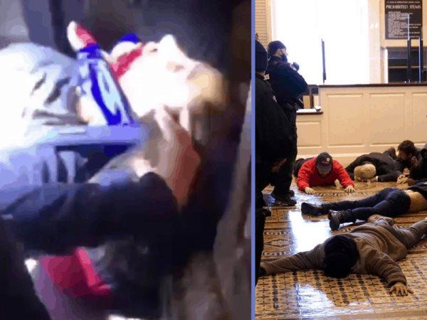 Joven muere tras recibir un balazo en el cuello durante las protestas en el Capitolio EE.UU.