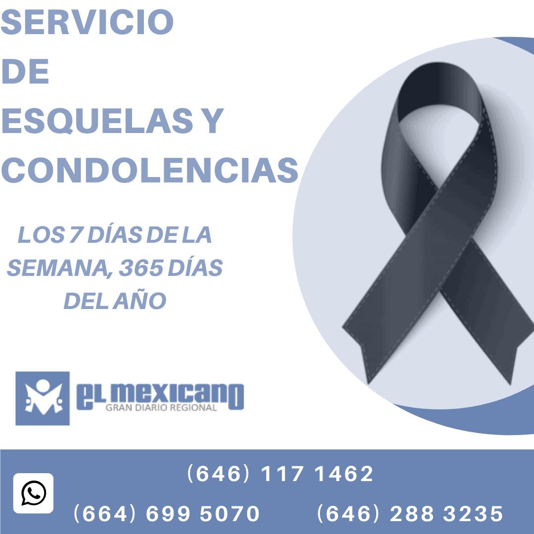 Servicio de Esquelas y Condolencias
