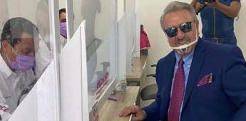 Kiko se registra para la gubernatura de Querétaro