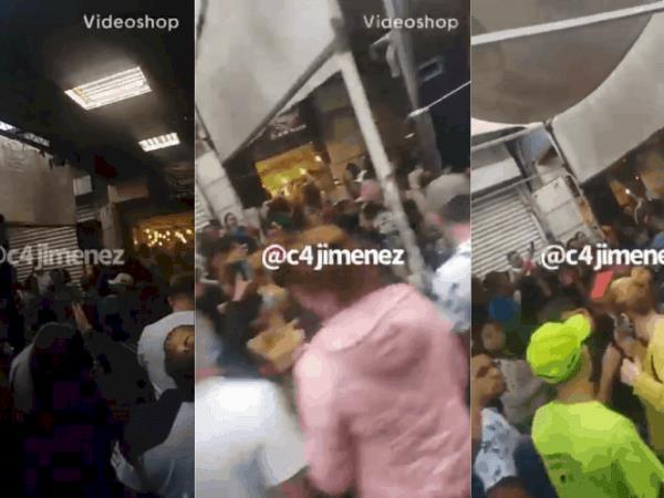 Se viraliza vídeo donde se ve festejo en una chelería de Tepito
