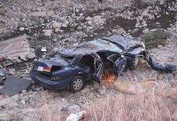 Sujetos amenazan con pistola a abuelito en retén carretero en Sonora