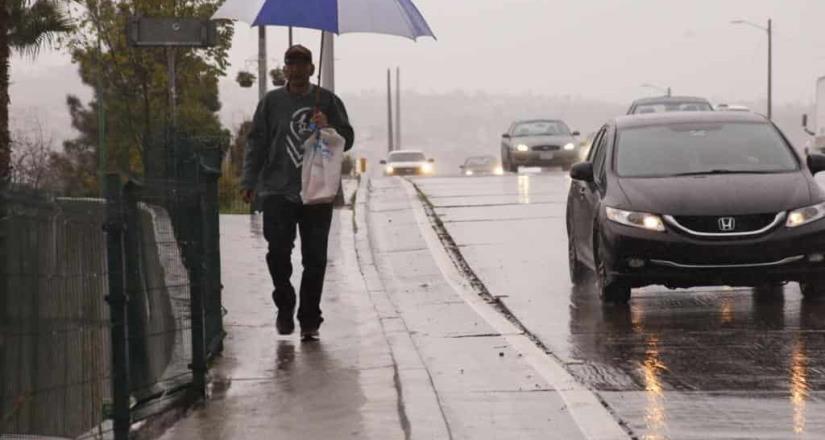 Protección Civil de BC pronostica nublados y lluvias para casi todo el Estado