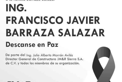 Francisco Javier Barraza Salazar