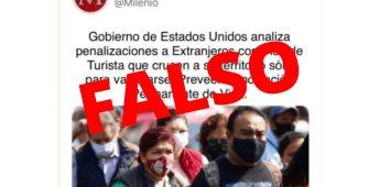 A través de grupos en redes sociales circula noticia falsa sobre revocación de visas en EE.UU