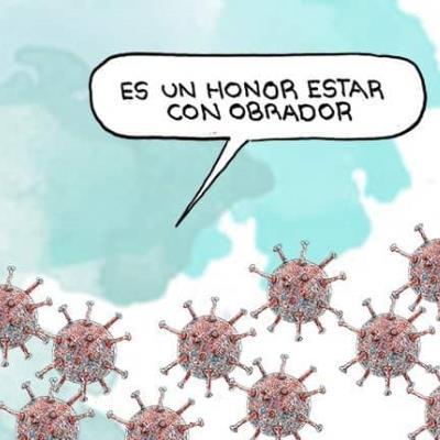 Es un honor estar con Obrador