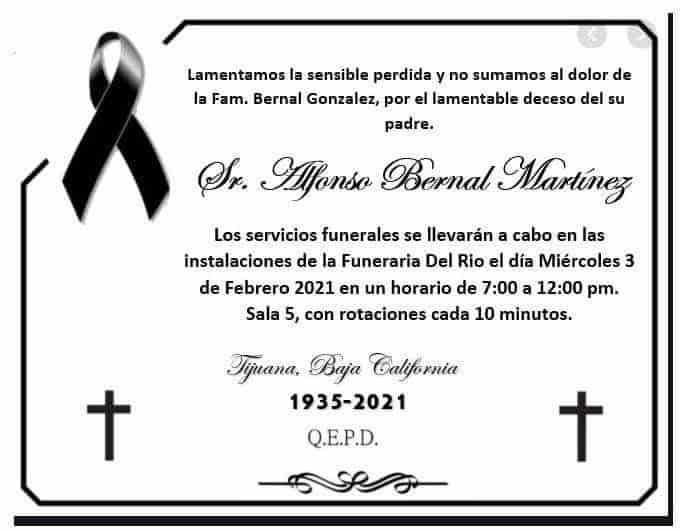 Alfonso Bernal Martínez