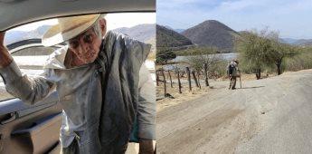 Antonio Pineda Duarte busca a sus hijos luego de no verlos 11 años