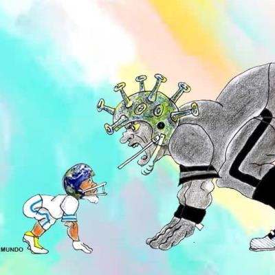 Mundo vs Covid-19 en un Super Tazón