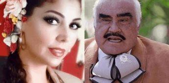 Lupita Castro declara que Vicente Fernández la violó cuando tenía 17 años