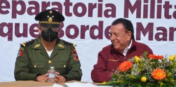 """""""Preparatoria militarizada busca formar a jóvenes con valores y sólidos principios éticos ARL"""