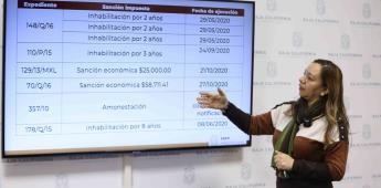 Fortalece Gobierno Estatal combate a la corrupción a través de la Secretaría de la Honestidad