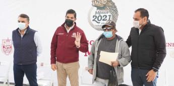Entregan gobiernos de México y Ensenada apoyos para el mejoramiento de vivienda