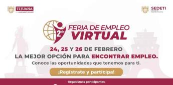 Anuncia Gobierno Municipal segunda Feria de Empleo Virtual en Tijuana