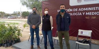 """Mediante programa """"Reforestando Ensenada"""" son donados 200 árboles a El Porvenir"""