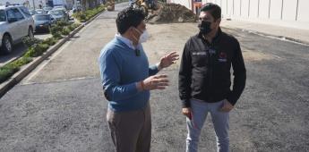Informa Armando Ayala Robles que registra 31 % de avance el Plan Emergente de Bacheo
