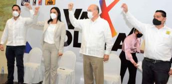Mely Romero, precandidata a la gubernatura de la alianza va por Colima