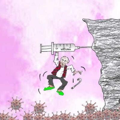 Personas de la tercera edad dependen de la vacuna para no caer en el Covid-19