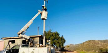 Realiza Gobierno de Ensenada  jornada de reparación de alumbrado público en Punta Colonet