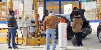 Desabasto de gas no tiene fecha de solución.