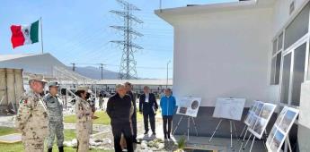 Andrés Manuel López Obrador presente en inauguración del Cuartel de la Guardia Nacional en Tijuana