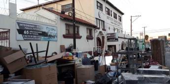 Desalojan el Instituto Cuauhtlatóhuac luego de acumular adeudos