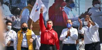 Octavio Pedroza asegura buen gobierno para San Luis Potosí: Alejandro Moreno
